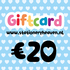 Stationery Heaven Giftcard - 20 euro_