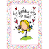 Juicy Lucy Designs Greeting Card - Big Birthday Hugs for You!_