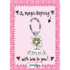 Juicy Lucy Designs Keyring | Fairy Girl_
