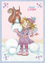 Princess Lillifee Postcard With Glitter | Winter_