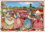 Postcard Edition Tausendschoen | Holland - Flower Field_