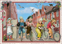 Postcard Edition Tausendschoen | Holland - Bicycles_