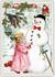 Postcard Edition Tausendschoen Christmas | Snowman_