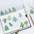 Sticker Flakes Box | Small Forest_