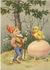 Postcard | Vintage Gnome Easter_
